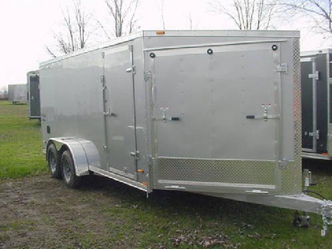 $5,499 7X23 All Aluminum Inline Snowmobile Haulers