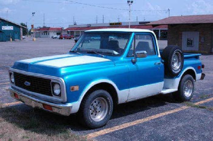 $5,500 1971 Chevy Truck Restoration Dream