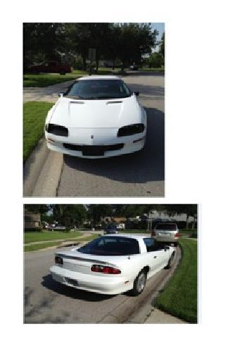 $5,500 1994 Chevrolet Camaro Base White - 20,000 miles