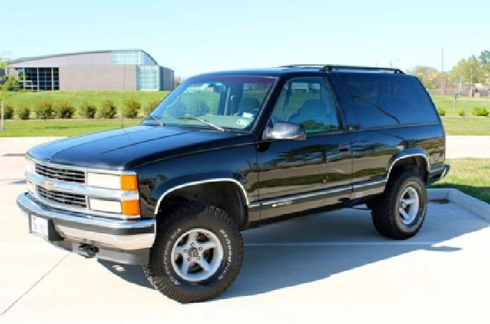 5 500 1996 2 door chevy tahoe for sale for sale in katy texas classified. Black Bedroom Furniture Sets. Home Design Ideas