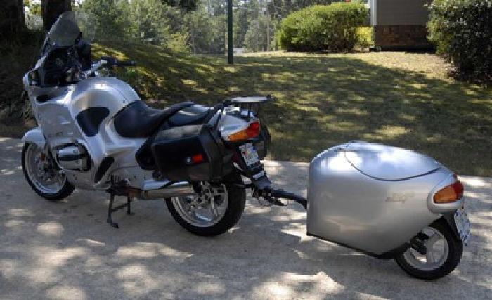 $5,500 2002 BMW R1150RT with Uni-Go Trailer