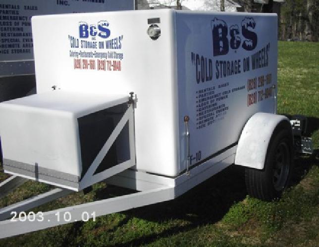 5 500 2002 jack frost freezer trailer for sale in asheville north carolina classified. Black Bedroom Furniture Sets. Home Design Ideas
