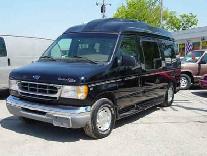 5500 99 Ford E 150 Conversion VAN HI Top Starcraft Black SP EDITION