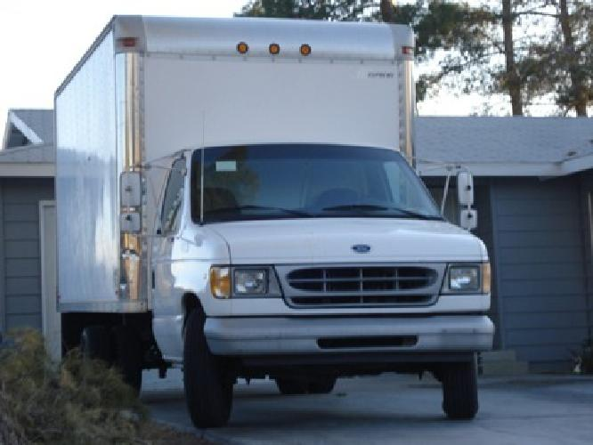 $5,800 1999 Ford E-350 14' Box Truck, Super Duty or (Trade for Cargo Van)