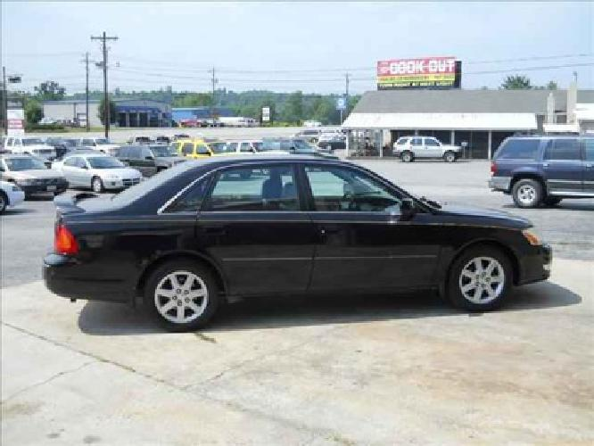 5 900 used 2001 toyota avalon for sale for sale in lenoir north carolina classified. Black Bedroom Furniture Sets. Home Design Ideas
