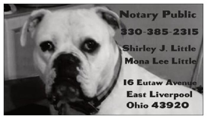$5 Notary Service