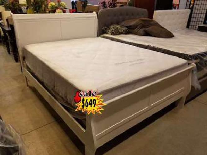5 Piece Queen Set $649 Free Mattress