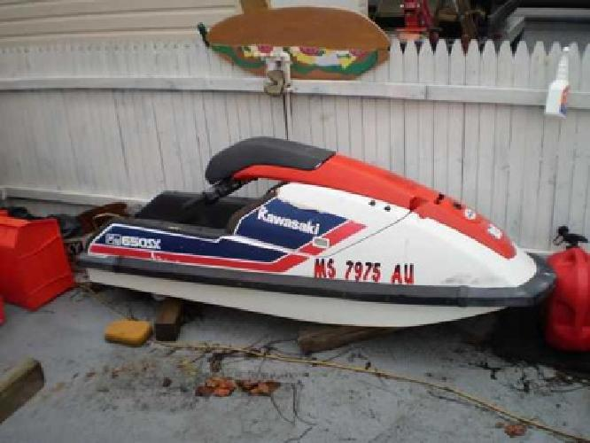 600 1989 650sx Stand Up Jet Ski Revere For Sale In