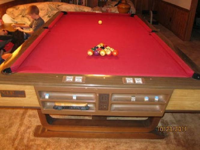 Brunswick Corporation VIP Nine Pool Table For Sale In Greenwood - Brunswick brookstone pool table