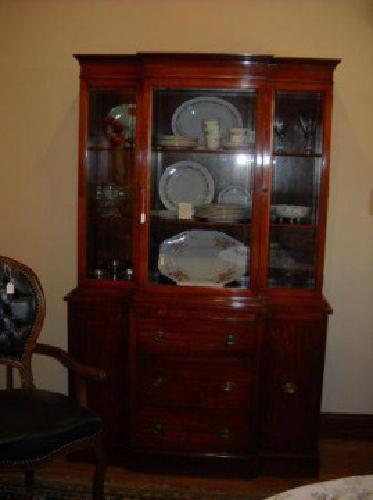 $600 Mahogany China Cabinet (Wake Forest)