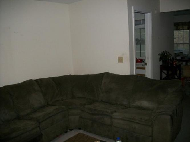 $600 OBO 2 Piece Sectional w / 3 Recliners