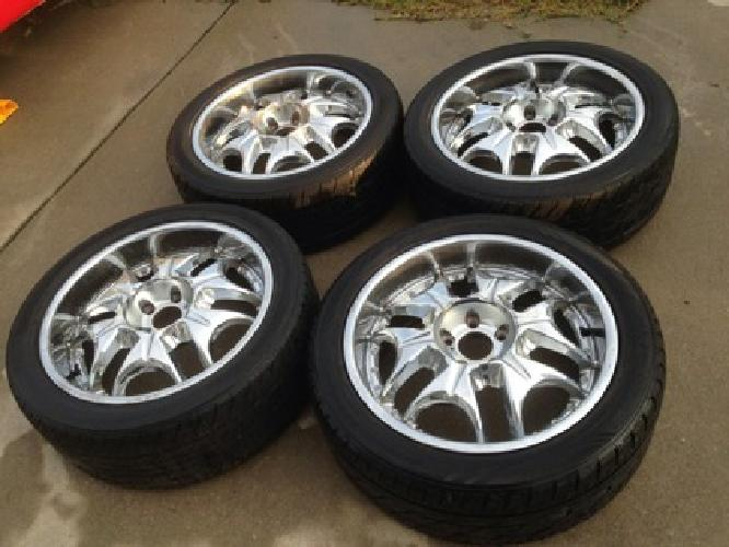 600 obo full set of 20 truck rims and low profile tires for sale in raleigh north carolina. Black Bedroom Furniture Sets. Home Design Ideas