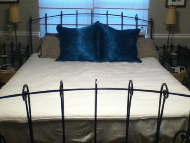 600 obo wrought iron king size bedroom set for sale in