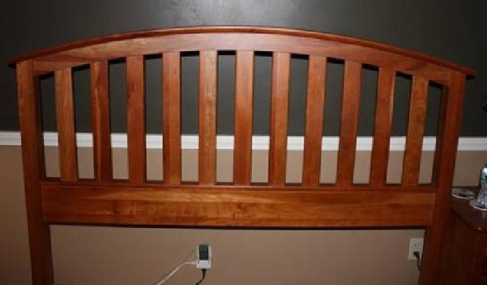 600 richardson brothers natural cherry queen bed for sale - Richardson brothers bedroom furniture ...