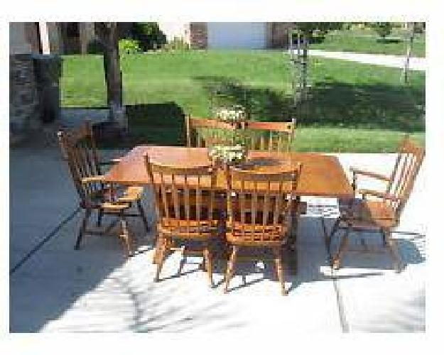 600 Set Ethan Allen Solid Wood Early American Style