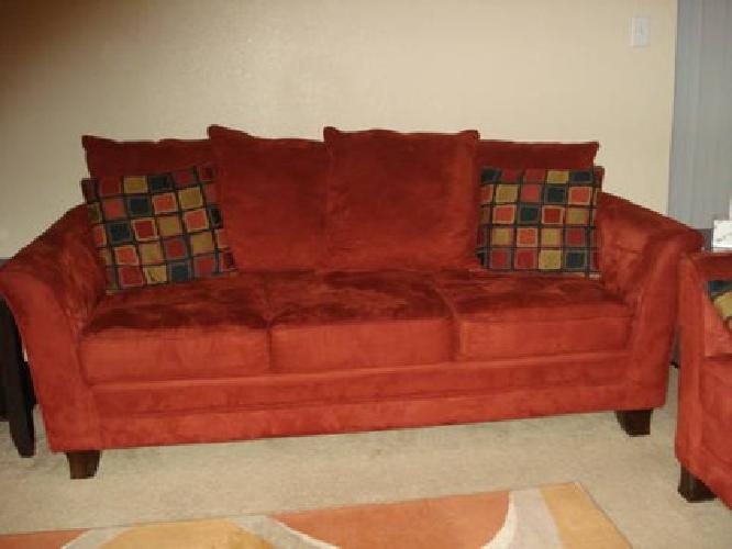 600 used living room set sofa love sofa chair and for Matching living room furniture sets