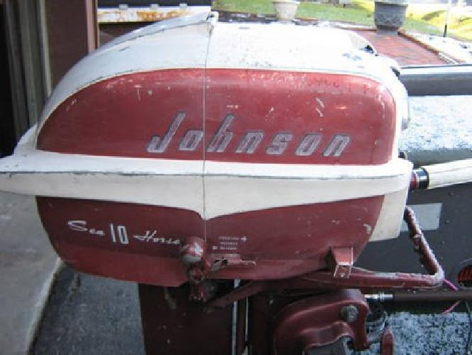 $600 Vintage 1957 10hp Johnson Seahorse Excellent Operating Condition