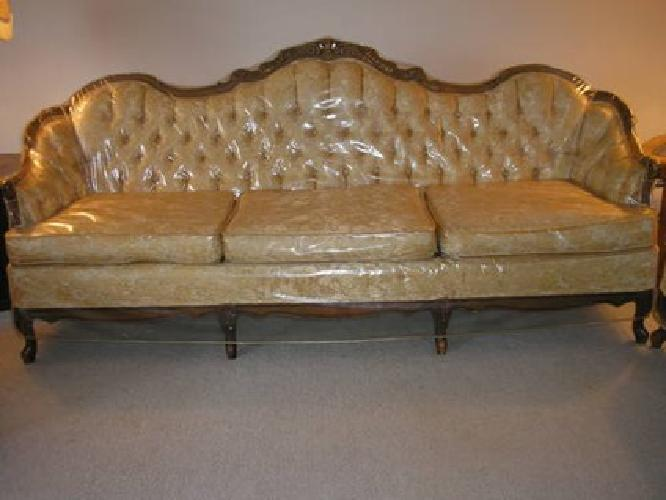 Bon $600 Vintage French Provincial Sofa And Chair