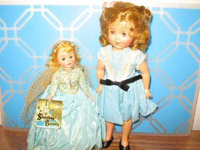 $60 1960 era DOLLS, Liddle Kiddles, Shirley Temple, Chatty Cathy, more