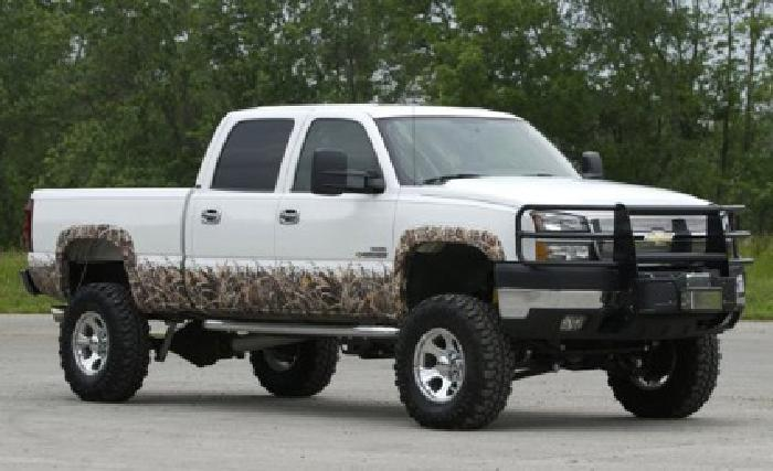 $60 Camouflage accent kits for your trucks
