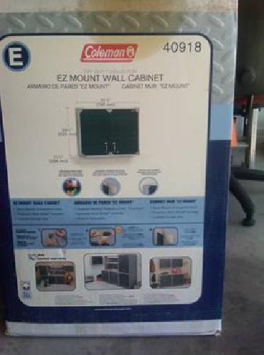 $60 Coleman   Tuff Duty EZ Mount Wall Cabinet