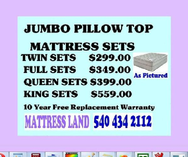$60 Quality Mattress Sets At Affordable Prices! Amish Hand Crafted And More