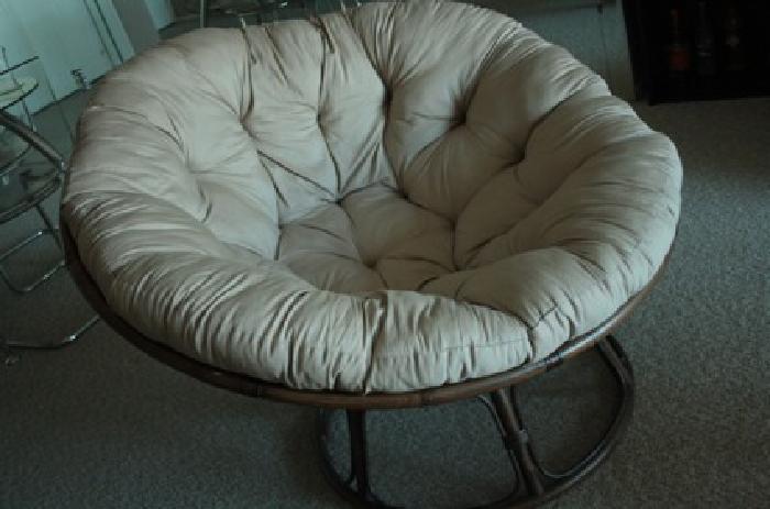 Bon $60 Round Bamboo Chair