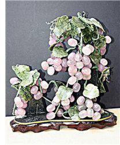 $60 Siberian Jade - Grapes Vines Tree J-0021