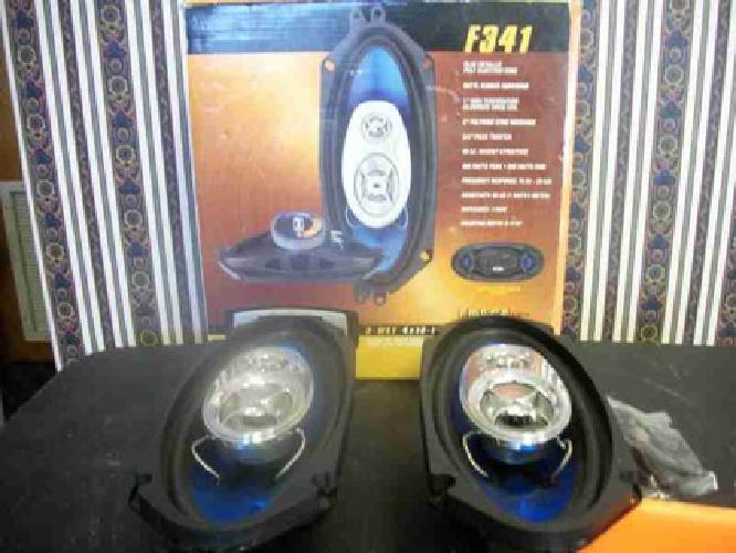 60 Ssl F341 3 Way 4x10 Inch Speaker System 400 Watts