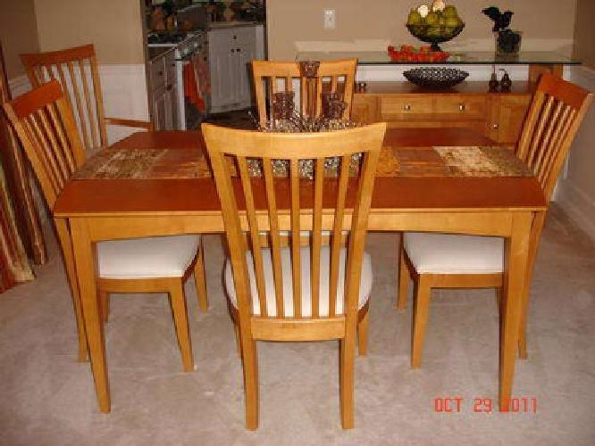 Large Dining Room Table - Wooden Dining Room Chairs