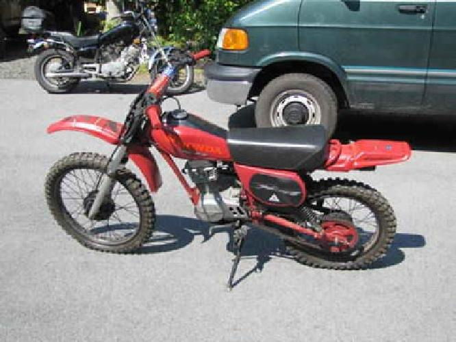 650 1986 honda xr100 dirt bike 100cc for sale in middletown new york classified. Black Bedroom Furniture Sets. Home Design Ideas