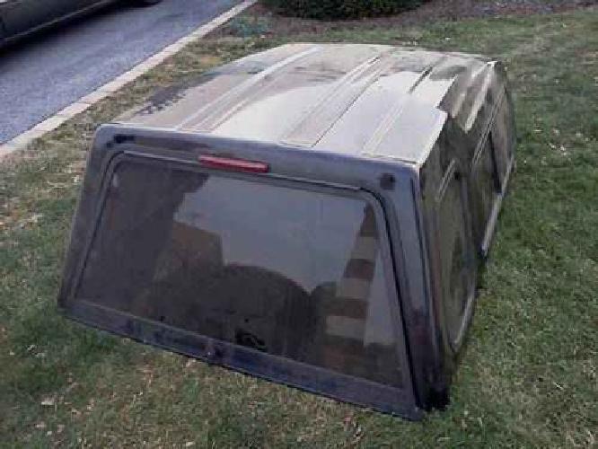 650 ford ranger ext cab truck bed cap 60 x73 black fiberglass garage kept for sale in. Black Bedroom Furniture Sets. Home Design Ideas