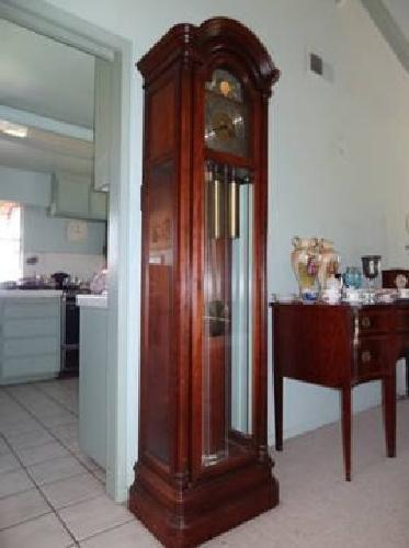 650 Grandfather Clock By Howard Miller Clock Co For Sale