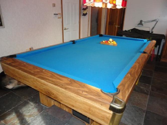OBO Foot Brunswick Brighton Pool Table For Sale In - Brunswick brighton pool table