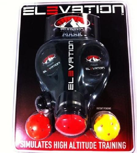 $65 Elevation Training Mask 1.0 high altitude simulated fitness training by UFC Cham