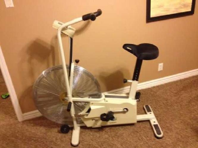 fan exercise bike. $65 giant dual fit exercise bike fan