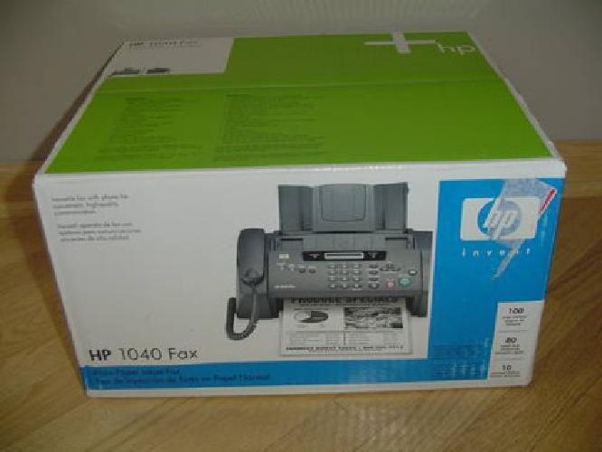 $65 HP 1040 Plain Paper Fax Machine/Copier - BRAND NEW