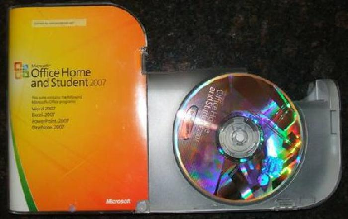 $65 Microsoft Office Home and Student 2007