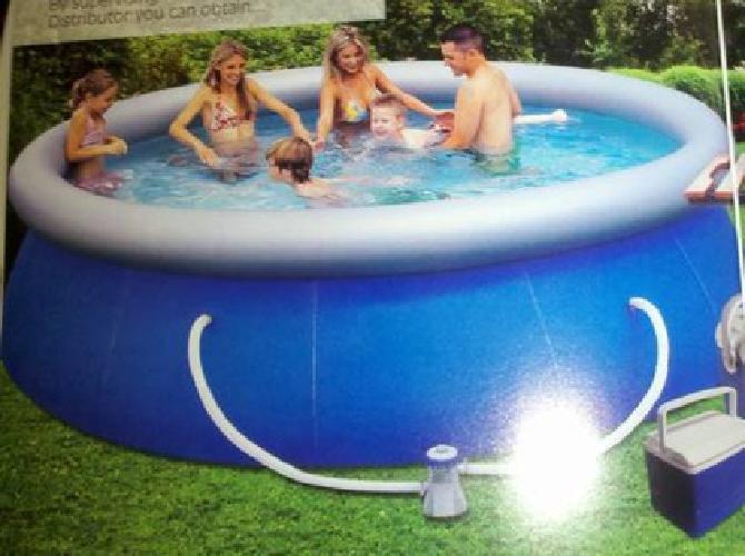 $65 New Pool Bestway Fast Set