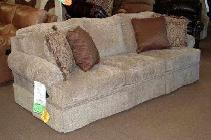Very nice very affordable sofa from ashley new for Affordable furniture payment