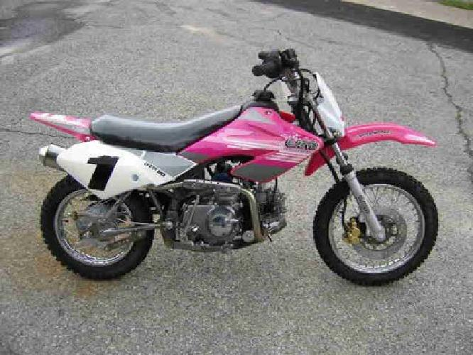699 blow out sale new united motors pink 110cc dirt for Used dirt bike motors for sale