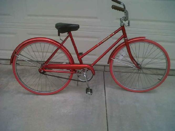 69 Sears And Roebuck Free Spirit Womans Bike With New Red