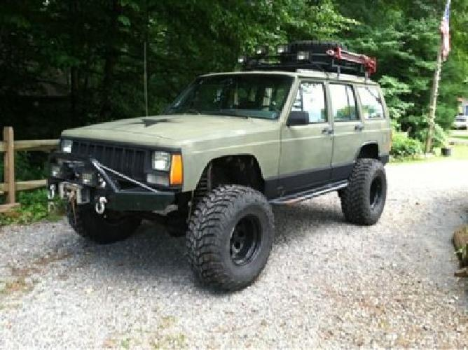 6 000 1994 Lifted Jeep Cherokee Xj For Sale In Winston Salem North Carolina Classified
