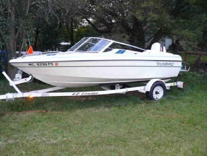 $6,000 1994 Sunbird Corsair 150 BR 15ft Excellent Condition Garage stored