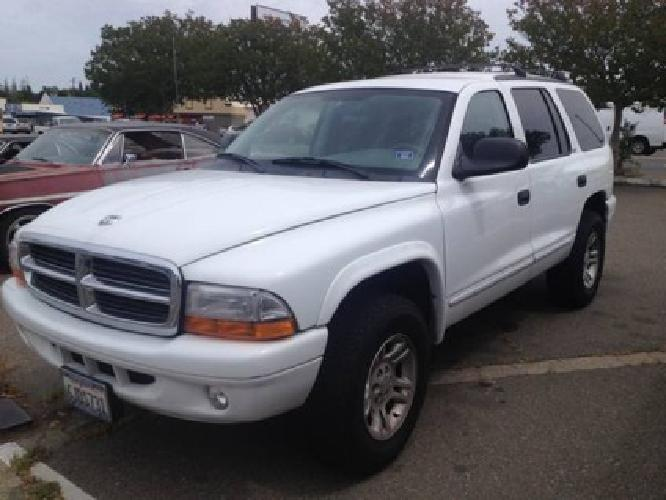 $6,000 OBO 2002 Dodge Durango 4x4 SLT w/tow pack and 3rd row seat