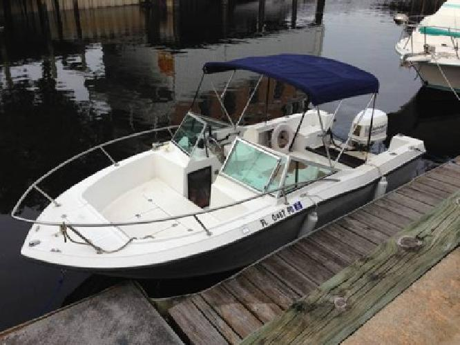 $6,000 OBO 20 ft Stratos 200 DC with 150 Johnson for sale in