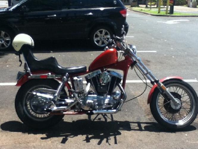 6000 OBO 68 Iron Head Harley Davidson For Sale