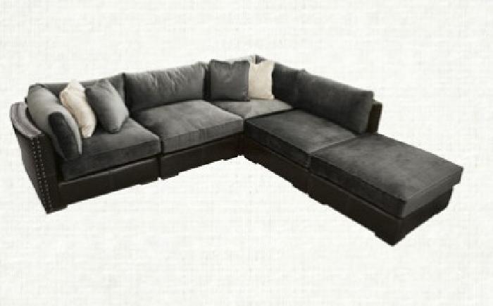6 000 Obo Arhaus Truffle Sectional Sofa Luxurious