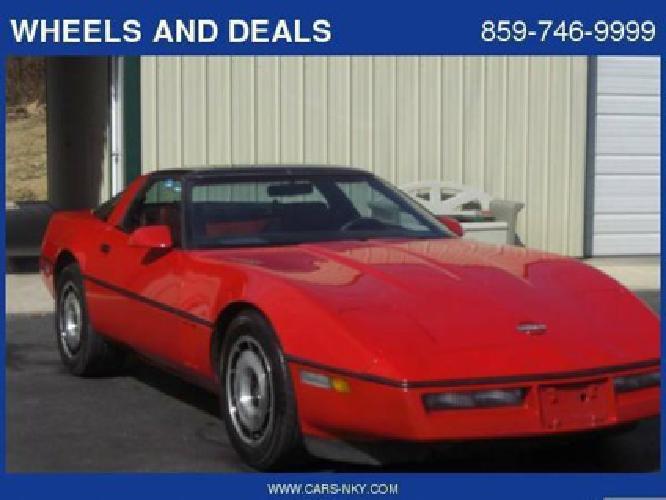 $6,495 1984 Chevy Corvette