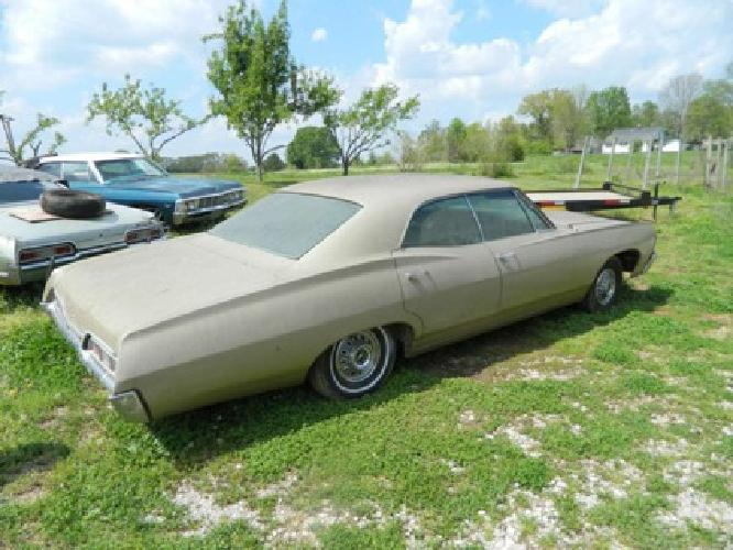 6 500 1967 chevy impala 4 door hardtop chevrolet 4 dr for sale in mcminnville tennessee. Black Bedroom Furniture Sets. Home Design Ideas